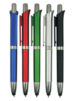 High Quality Stylus Touch Screen Plastic Ball Pen for Promotional Gift