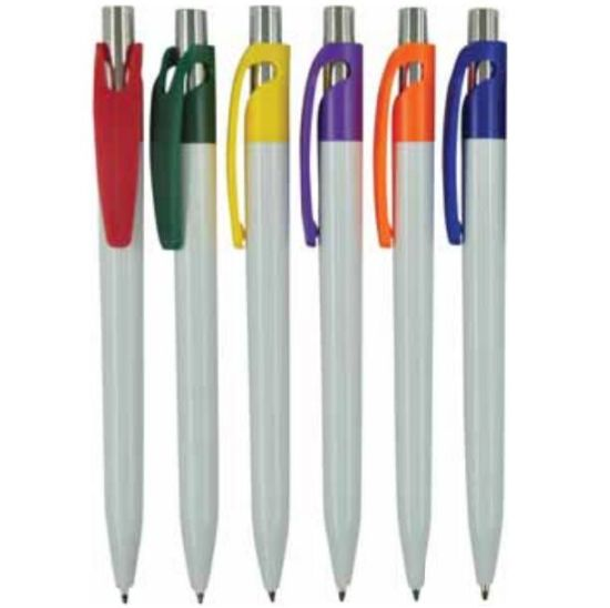 School Supply Plastic Ball Pen with Logo Imprinting