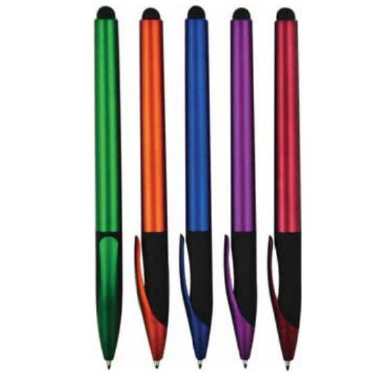 New Design Plastic Stylus Touch Screen Ball Pen with Coustomized Logo