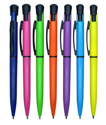 Newest Style Promotional Gift Plastic Ball Pen for School Supply