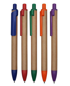 New Design Recycle Paper Ball Pen with Logo Imprinting