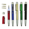 Multi-Function LED Light Plastic Ball Pen with Screwdriver, Stylus